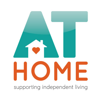 AT Home [logo]