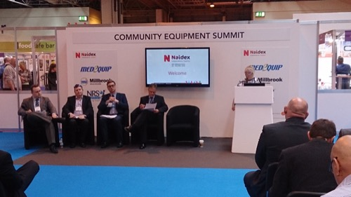 Photo of the Naidex Summit Panel