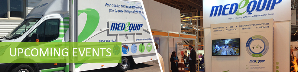 Medequip Mobile Exhibition Vehicle - Upcoming Events