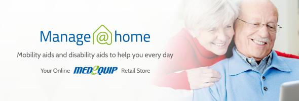 Buy mobility and disability aids online at Manage At Home - Your online Medequip retail store